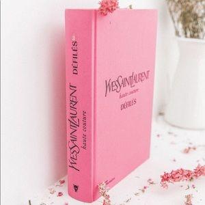 New!! YSL Saint Laurent XL Book + Cosmetic Bag